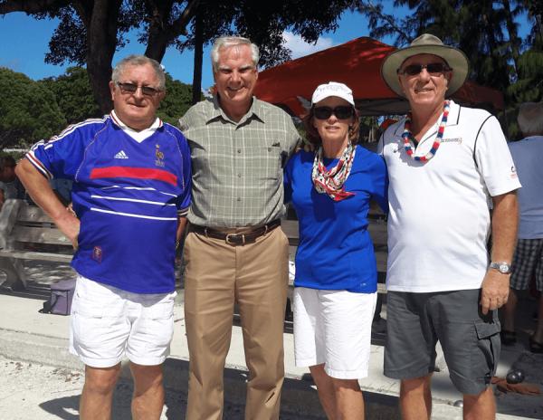 Left to Right: Francis Cheru, John Wildner, Jo Ella Manalan, Emile Blanco